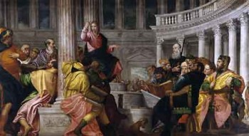 Veronese-Jesus-and-the-scribes-450-web