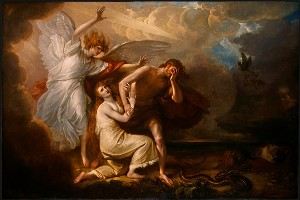 Benjamin-West-The-Expulsion-of-Adam-and-Eve-from-Paradise-300x200